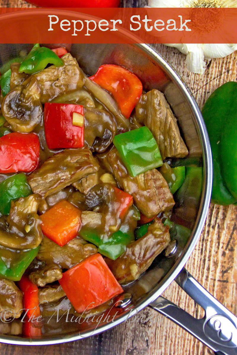 Pepper steak the midnight baker pepper steak bakeatmidnite beef peppersteak recipe quick and tasty meal forumfinder Images