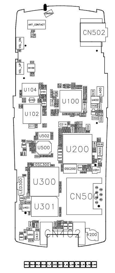 Samsung B312e Diagram