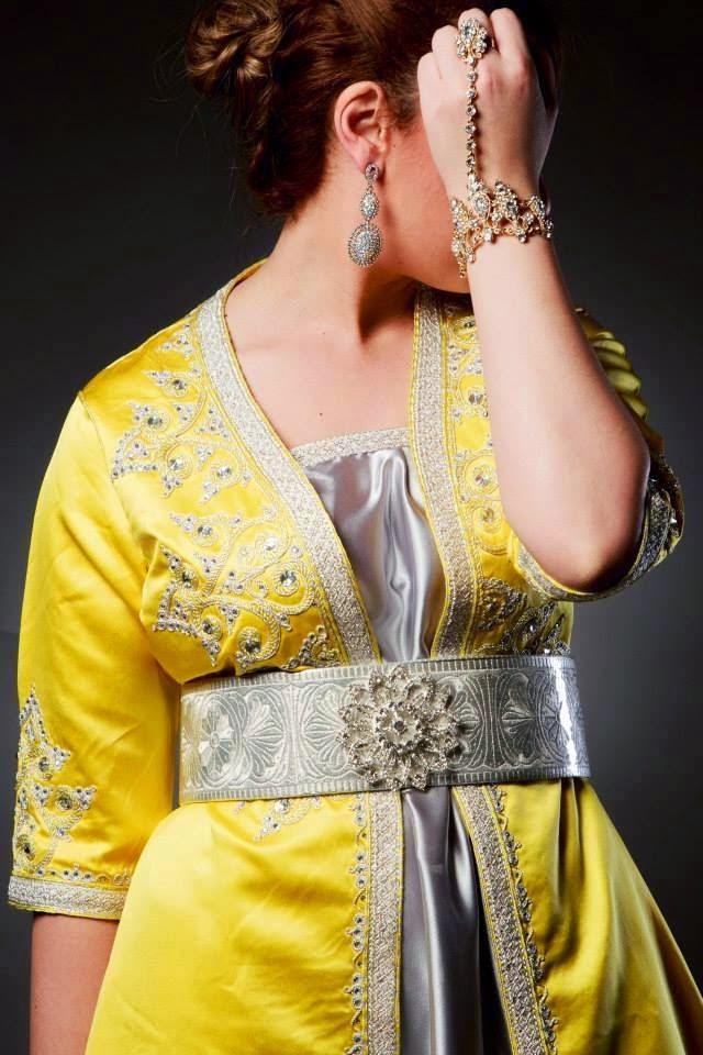 caftan marocain de luxe 2015