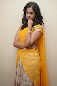 Nanditha raj latest photos in half saree-thumbnail-12