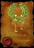 Creative Blogger díj