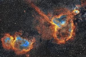 IC 1871 & IC 1805