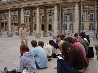 Ulrike Kasper at Palais Royal, Paris