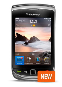 BlackBerry Torch 9800 lands on Optus in Australia