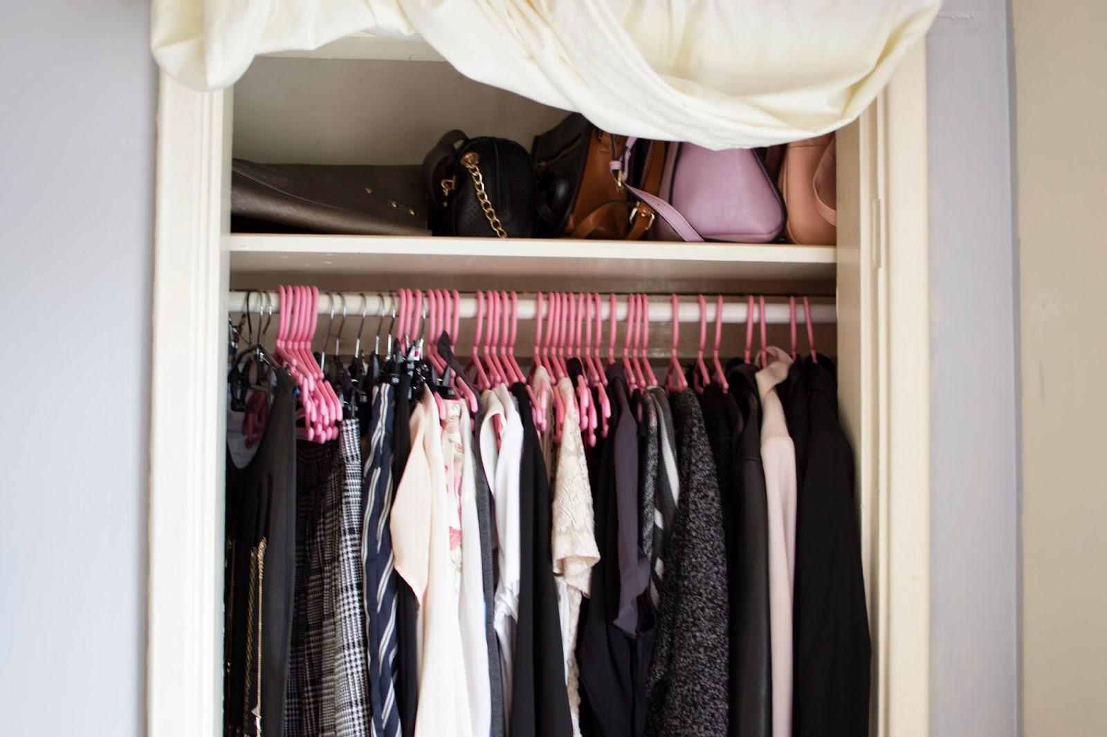 Closet Wardrobe Minimalism Minimal Fashion