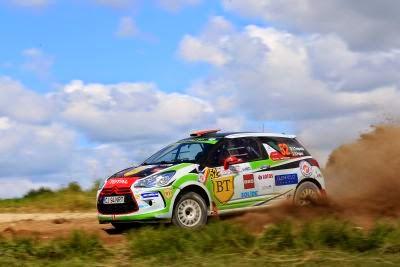 Simone Tempestini si Dorin Pulpea - Citroen DS3 R3 - Polonia 2014 - Junior WRC