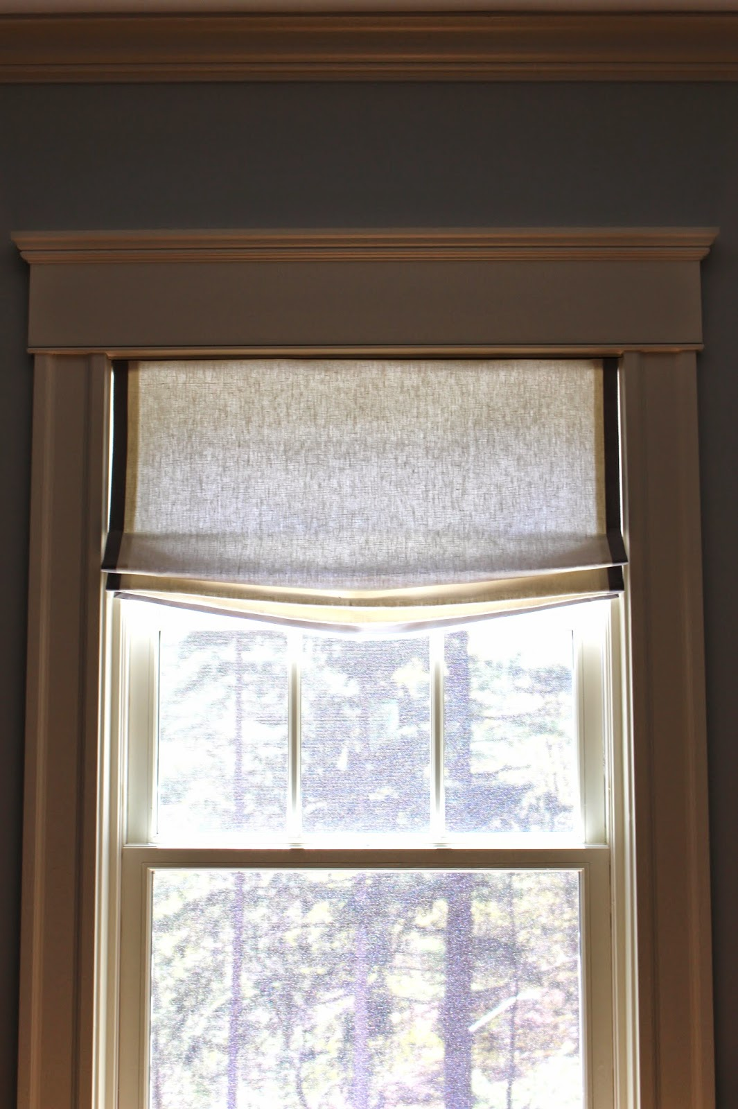 view from my heels: Project Update: Kitchen Window Treatments (Done!)
