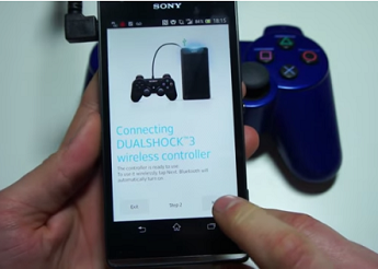 Cara Setting / Hubungkan Joystick Di Sony Xperia