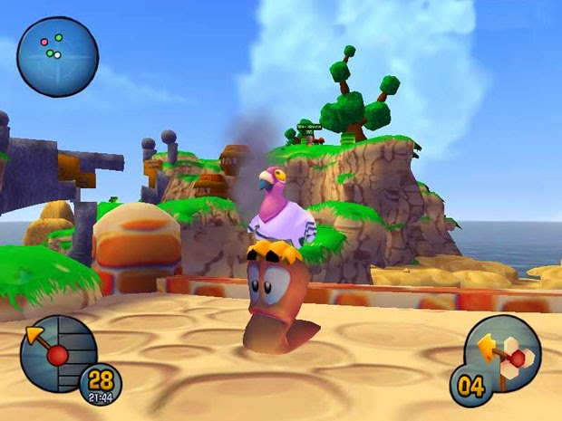 Worms 3d PC game Download