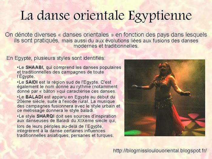 La danse orientale Egyptienne