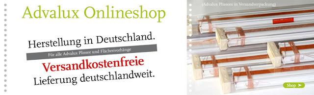 Plissee günstig Online kaufen bei Advalux.de