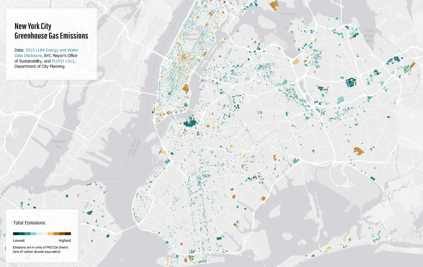 New York City greenhouse gas emissions