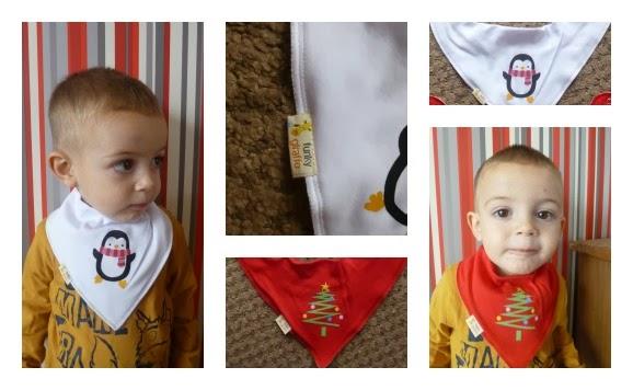 Yorkshire Blog, Mummy Blogging, Parent Blog, Funky Giraffe, Bib, Bandanna Bib, Review, Christmas, Christmas Feature,