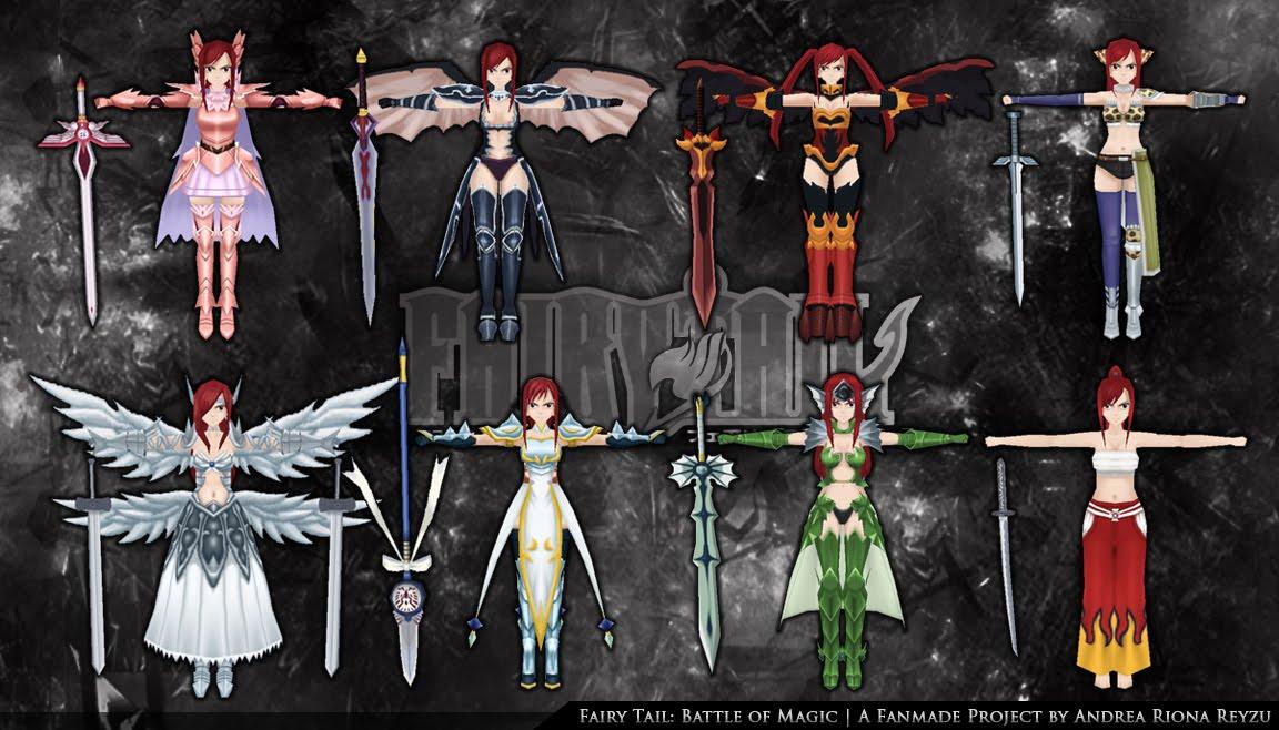 Fairy Tail Erza Sea Empress Armor Andrea's projects development: 2012 ...