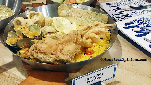 Fish & Co Malaysia Fry-Kings Platter