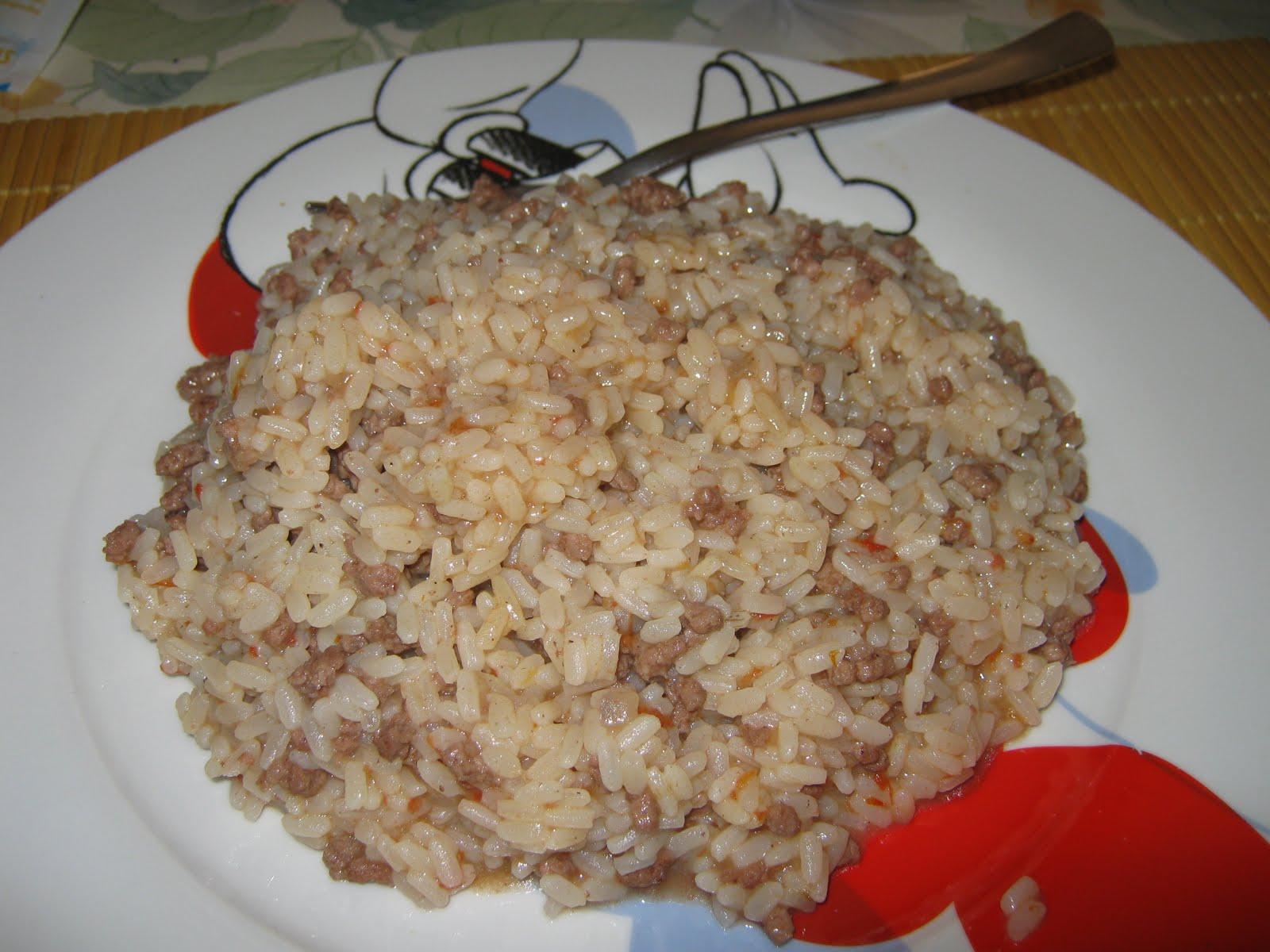 Ricetta risotto con carne trita