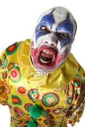 screaming clown