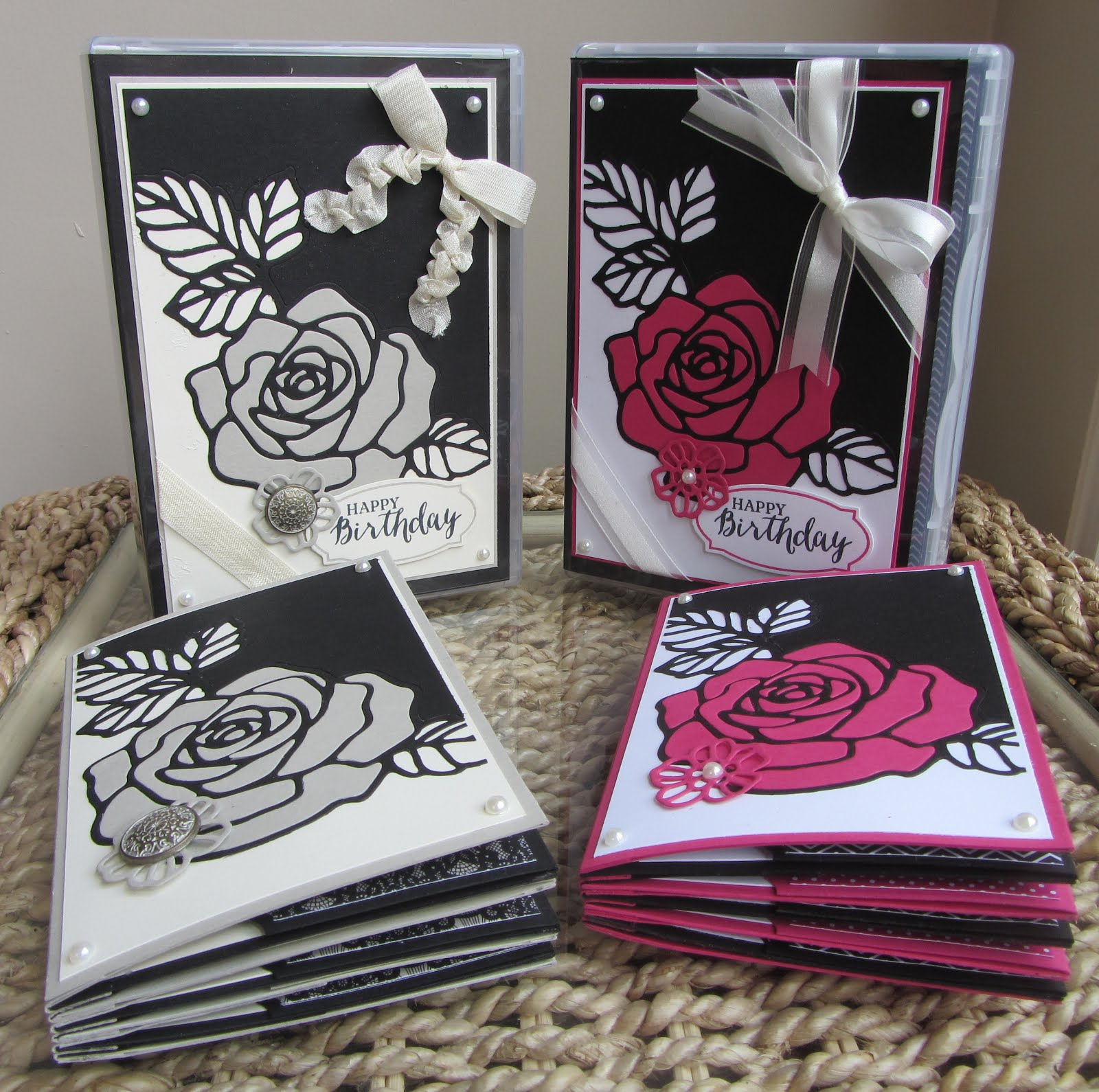 Rose Wonder Stamp Class