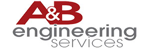 A&B Engineering Services Logo picture.
