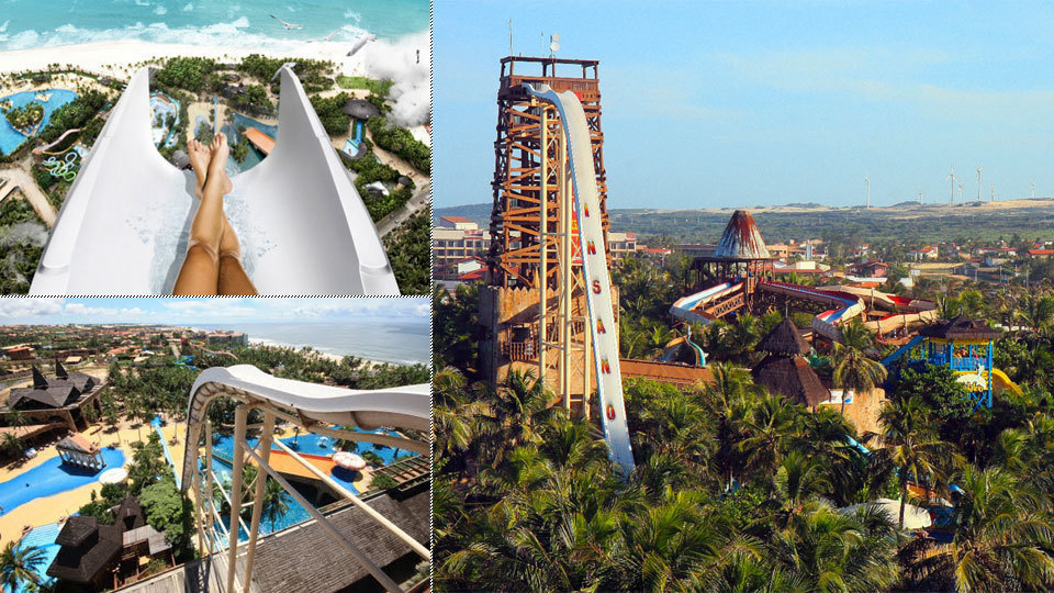 #9. Insano, Fortaleza, Brazil - The World's 25 Scariest Waterslides… I'm Surprised #6 Is Even Legal.