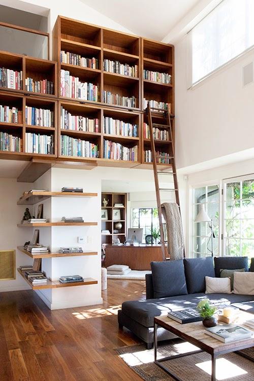 decoracao tijolo branco : decoracao tijolo branco: CADEIRA E SENTE! : Madeira, Branco, Tijolo à vista e biblioteca