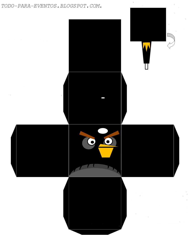 Сделай сам angry birds из бумаги