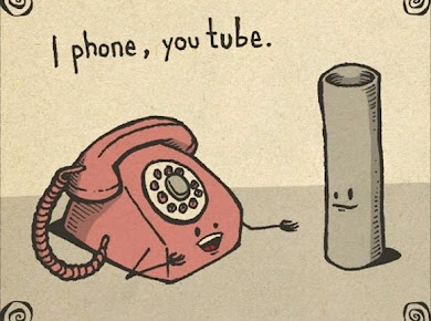 iPhone, you tube