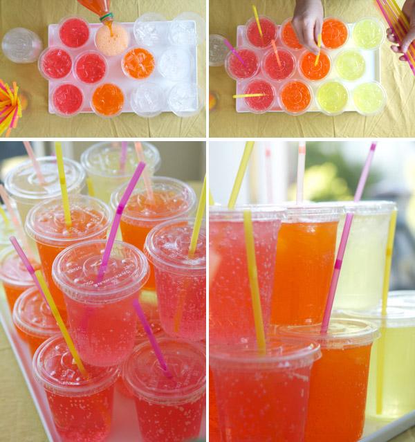 Movie Night Bouquet With Drinks: Creative Party Ideas By Cheryl: Movie Night Ideas