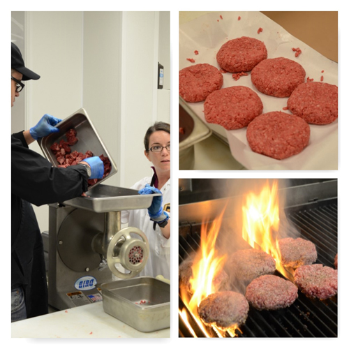 custom burger grind, burger, grinding meat,