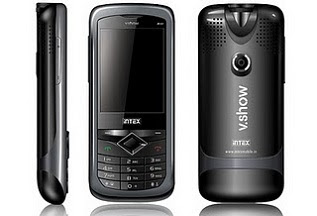 Intex V.Show Mini Theatre IN 8809 is a Dual SIM projector phone by Intex Mobiles in India
