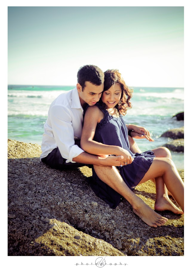 DK Photography Niq1 Niquita & Lance's Engagement Shoot on Llandudno Beach  Cape Town Wedding photographer