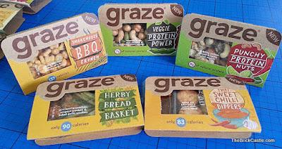 Graze 'Good To Go' instore Savoury Snack Range