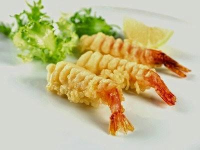 Nikmati udang rangup ala restoran Jepun