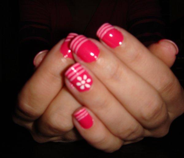 The Charming Pink nail designs tumblr Pics