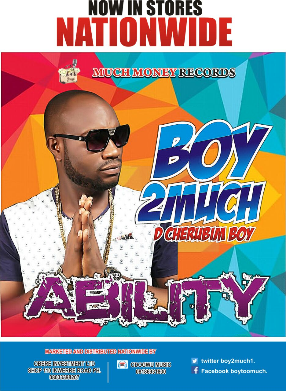 "Boy 2much's ""ABILITY"" album is now out!"