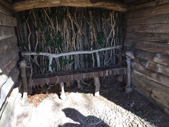 Gorgeous little hut at The Weir