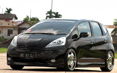 All New Honda Jazz 2008 Modification