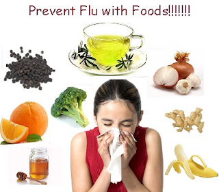 Foods to eat and Avoid for Flu Patient