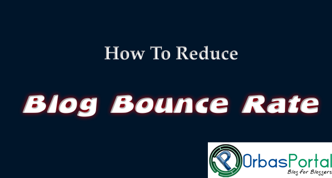 Reduce high blog bounce rate