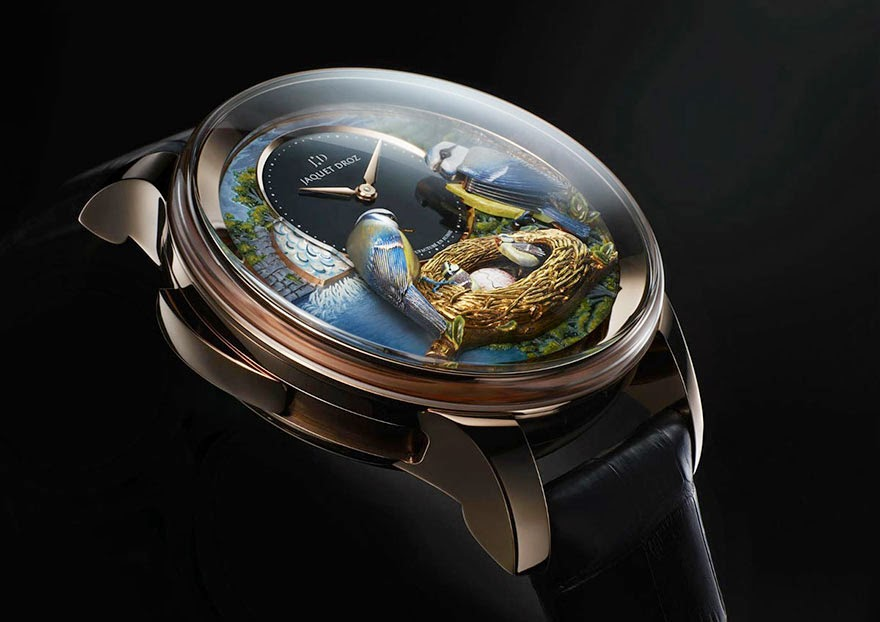 24 Of The Most Creative Watches Ever - This Bird Repeater Watch Is Worth Half A Million Dollars