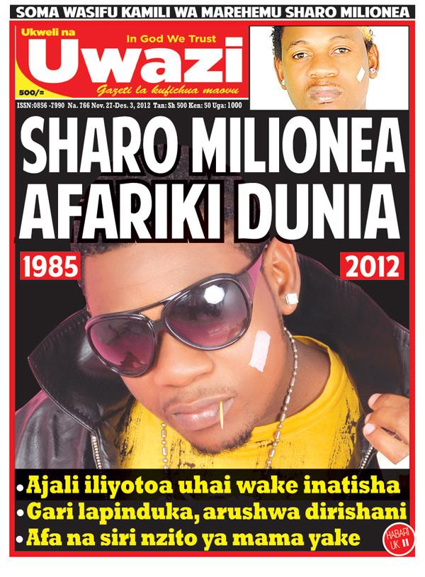 Kusoma gazeti hili la UWAZI leo bonyaza hapa. UWAZI