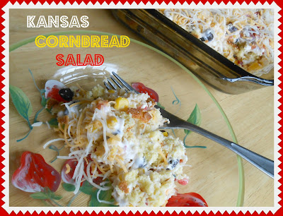 Kansas Cornbread Salad