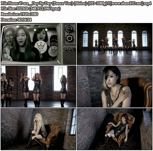 Download MV T-ara () - Day By Day (Dance Version) (Melon Full HD 1080p)