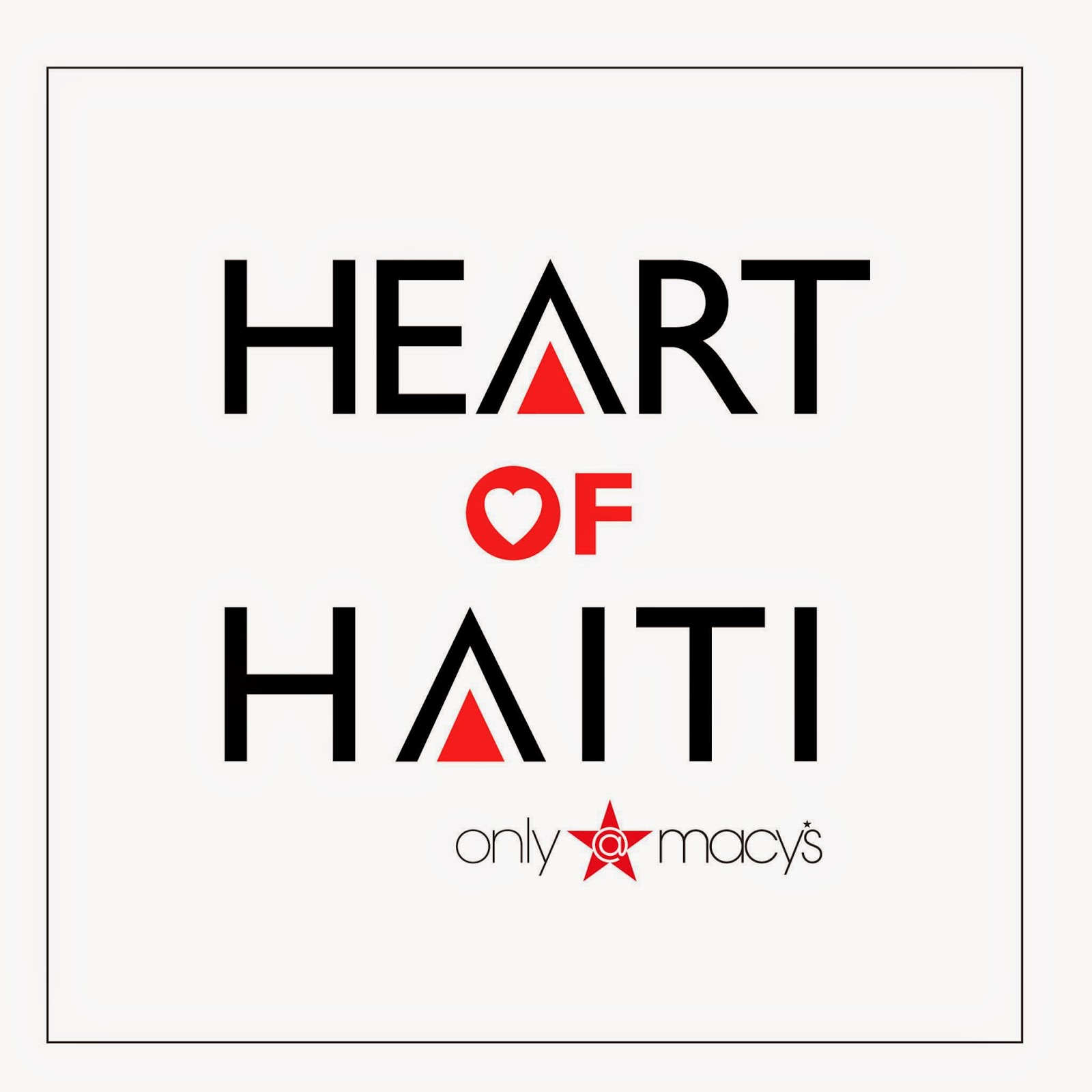 causes, support, charity, contribute, Macy's, Haiti