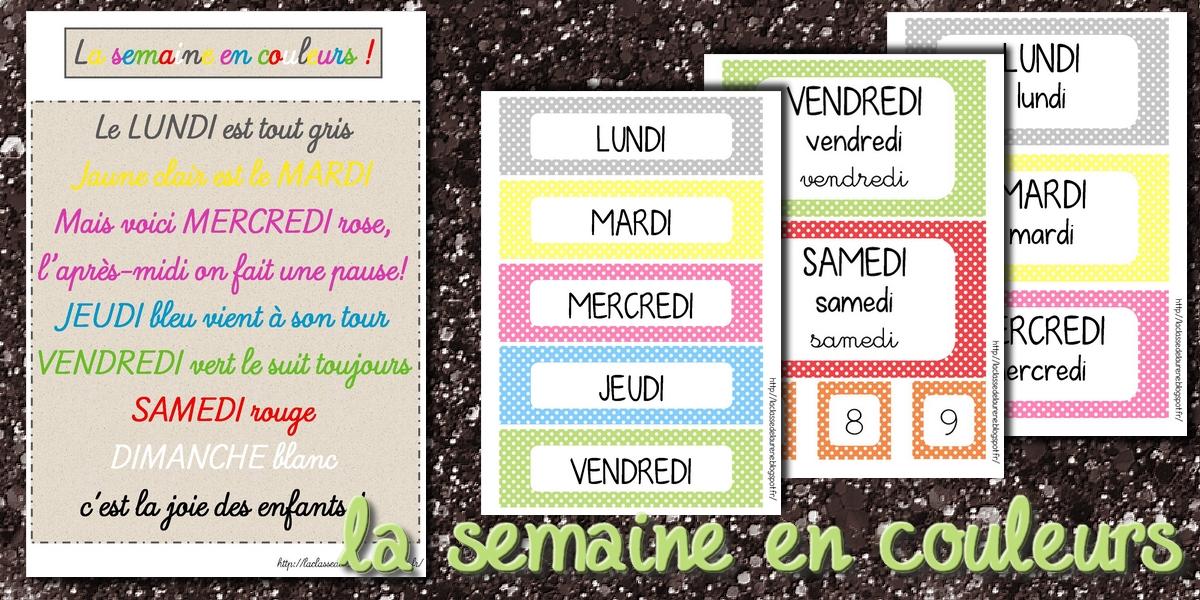 Célèbre La maternelle de Laurène: Les étiquettes dates IK95