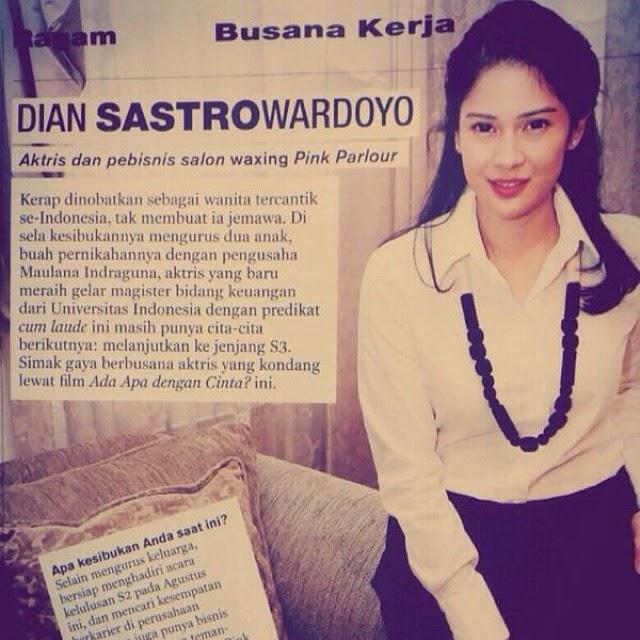 Profile Majalah Dian Sastro