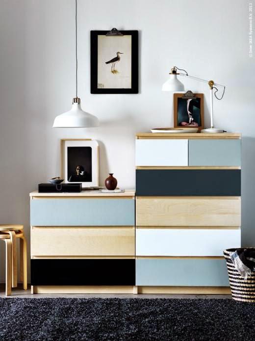 loulou gatou 8 fa ons de customiser votre commode malm de chez ikea. Black Bedroom Furniture Sets. Home Design Ideas
