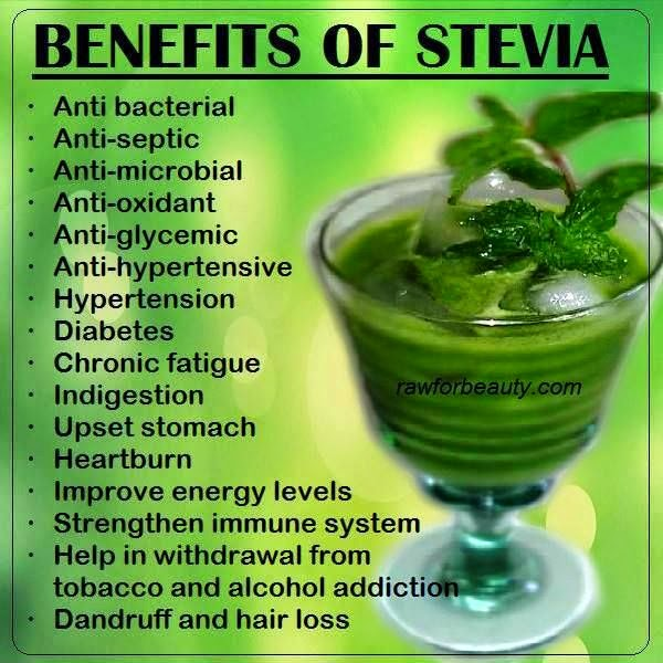 Health benefits of Stevia
