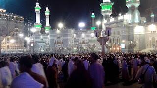 Malam ke-27 Ramadhan Jamaah Masjid Haram Meningkat