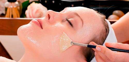 peeling facial con acido glicolico